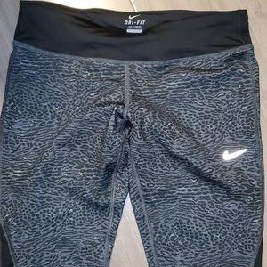 Nike Running Dri-fit leopard pants